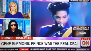 Prince Tribute By Gene Simmons, Bruce Springsteen, Eric Clampton Pt 1