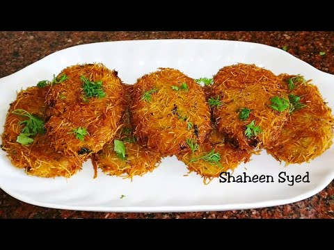Chicken Russian Kabab | Russian Cutlets Recipe | Chicken Starter Recipes