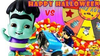 Ryan's World Toys vs Netflix Super Monsters:  Spinwheel Game