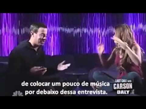 Joss Stone on Carson Daly Interview - Entrevista Traduzida