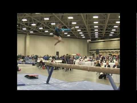 Robyn Bernard (Hill's) - 2010 JO Nationals - Beam