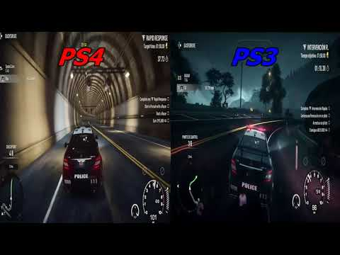 NEED FOR SPEED RIVALS COMPARACION DE GRAFICOS PS3 vs PS4