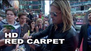 World War Z Germany Premiere Atmosphere: Brad Pitt & Angelina Jolie