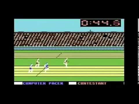 Commodore 64   Epyx Summer Games 1984