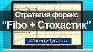 """Стратегия форекс """"Fibo+Стохастик"""""""