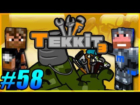 Tekkit Pt.58 |I Like Gold LLC.| Meaty's secret lab