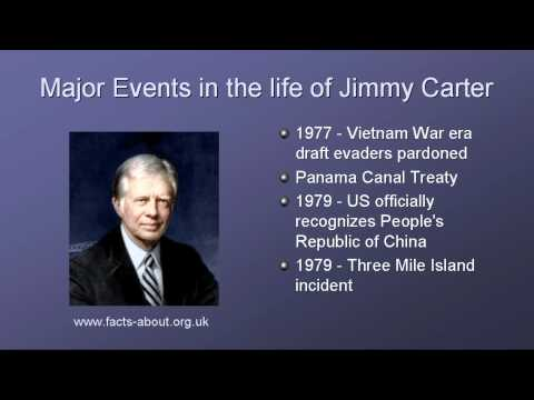 a biography of jimmy carter 39th president of the united states of america President carter's birthdate is october 1, 1924 he was named for his father, but never used any name but jimmy he served as the thirty-ninth president of the united states from 1977 to 1981, and was the recipient of the 2002 nobel peace prize prior to becoming.