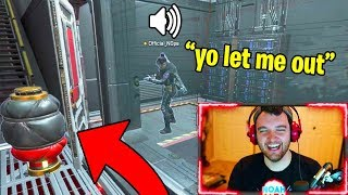 TRAPPING TEAMMATES IN ROOMS WITH CAUSTIC! (TOXIC) - Apex Legends Battle Royale Gameplay