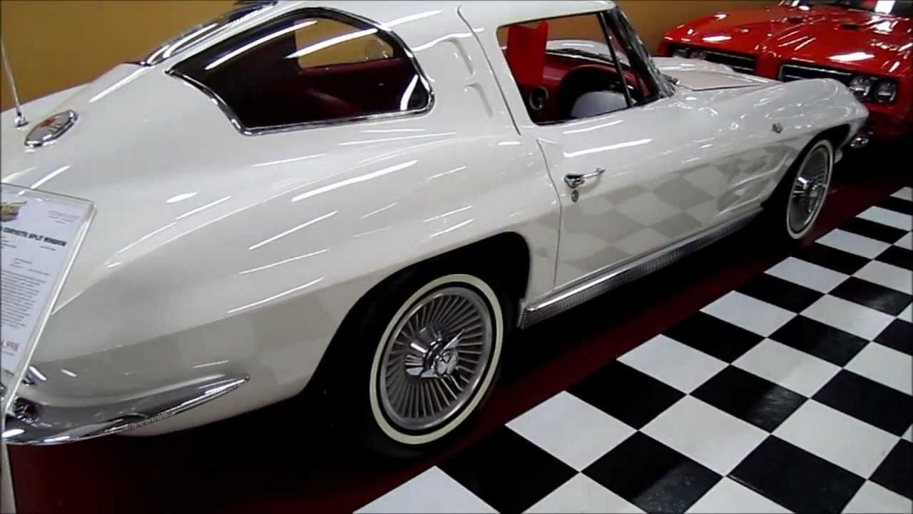 1963 CORVETTE SPLIT WINDOW YouTube