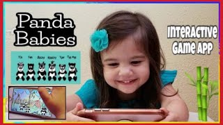 Panda Babies Playhome Game App | Fully Interactive Virtual House and Garden