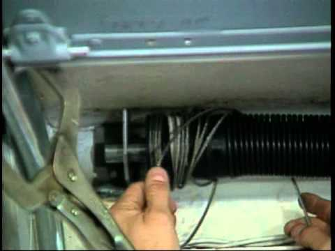 Whiting Door Premium Roll Up Door Cable Change Youtube