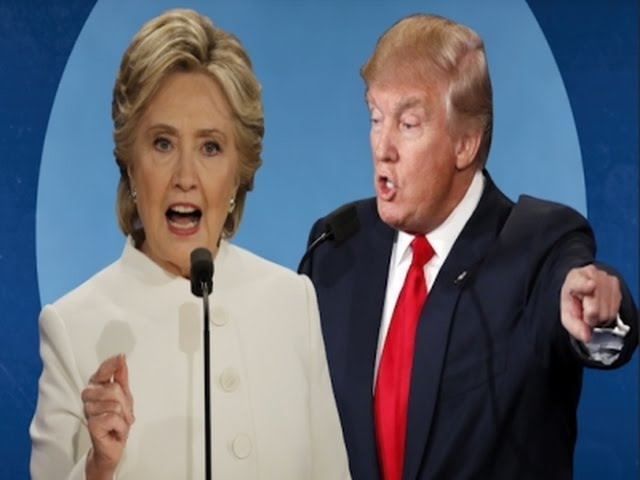 Clinton, Trump Trade Barbs in Fiery Final Debate