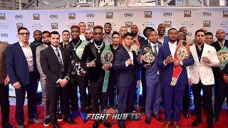 ALL THE FACE OFFS FOR THE PBC ON FOX SPRING UP FRONTS 2019