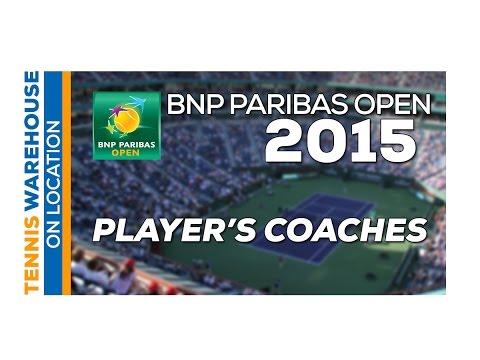 ATP/WTA Players and Coaches @ BNP Paribas Open