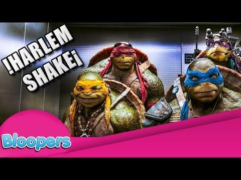 Bloopers - Tortugas Ninja - Harlem Shake - Hd video