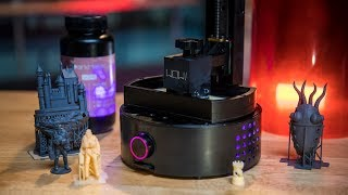 SparkMaker FHD $250 3D Printer Review!