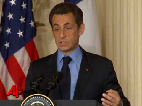 Obama, Sarkozy Push for UN Sanctions on Iran