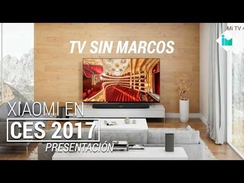 Xiaomi en CES 2017 | Mi Mix Blanco, Mi TV 4, Mi Router HD | Presentación en español
