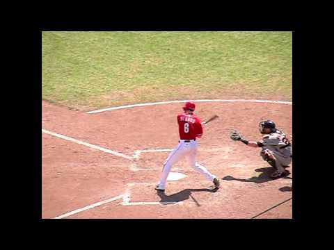 Drew Stubbs Slow Motion Swing