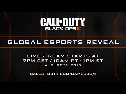 Official Call of Duty®: Black Ops III - Global eSports Reveal Live Stream