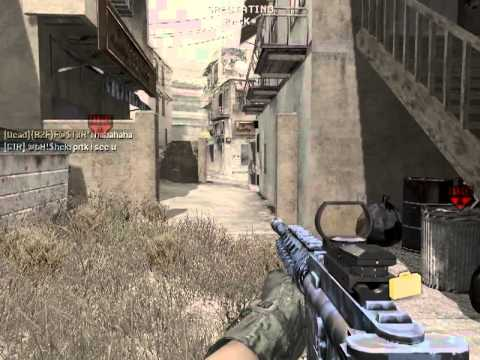 Call of duty multiplayer gameplay on gameranger, part 2 ,Search and destroy.