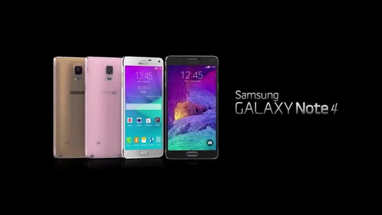 Samsung Galaxy Note 4 Tanıtım Videosu