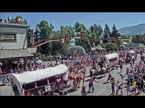 Jackson Hole_Parade 4th July 2017