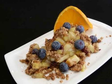 Gluten Free Apple Crumble Recipe