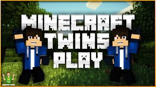 Twins Play Minecraft - The Hunt For Sand - Part 10