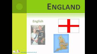 Learn English Online - countries & nationalities - video support - www.NajlepszaSzkolawUrsusie.pl