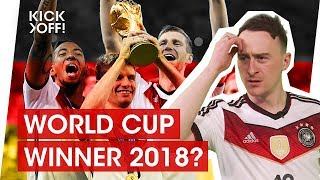 Why Germany will win the FIFA World Cup 2018 in Russia!