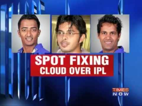 Spot fixing hits Indian Premiere League, 3 arrested.