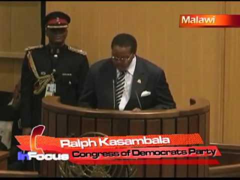 Malawi President Hospitalized