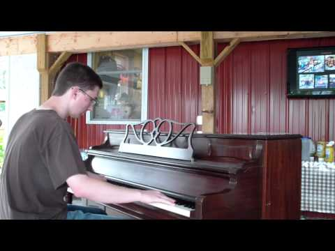 Adam Swanson 4.|WAY DOWN YONDER|Central PA Ragtime Festival|July 21 2012|street piano