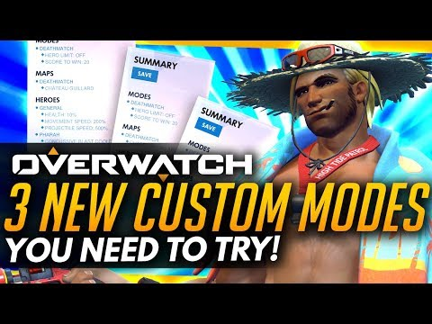 Overwatch   3 New Custom Modes You NEED To Try!