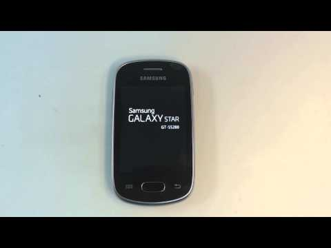Samsung Galaxy Star S5280 - How To Reset - Como Restablecer Datos De Fabrica