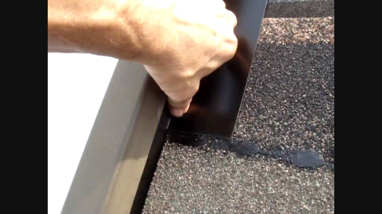 Md Skylight Repair - How To Fix a Skylight Leak - YouTube
