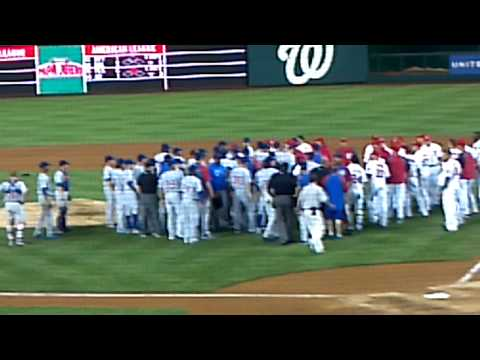 9/6/12 Nationals-Cubs Fight