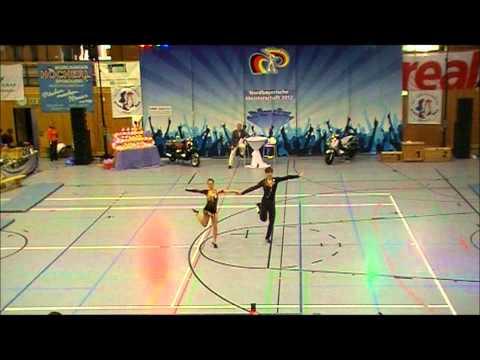 Coletta Braun & Philipp Seidenschwarz - Nordbayerische Meisterschaft 2012