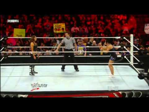 WWE Raw 3/14/11 Part 11/12 Trish Stratus w/t Snookie vs Vickie Guerrero