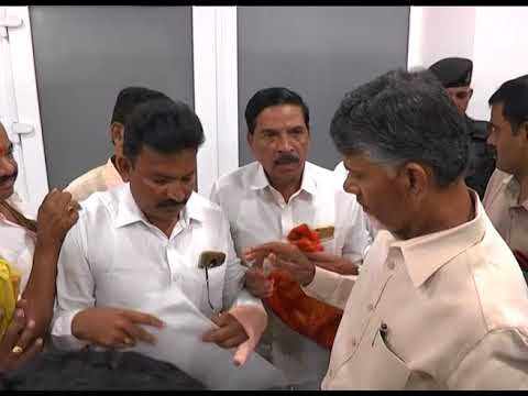 VISITORS MET AP CM AT ASSEMBLY ON 11092018