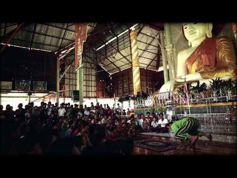 Clowner utan Gränser i Rakhine, Burma 2013