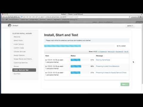 Hortonworks Cluster Deployment using Ambari