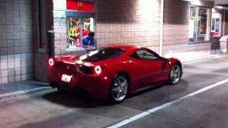 Ferrari 458 McDonald's Reaction
