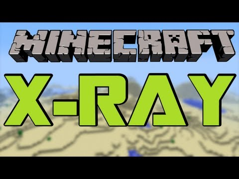 MINECRAFT MOD: X-RAY [1.7.5] - HD [German/Deutsch] Review/Tutorial