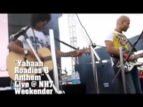 Yahaan - Airport Live at NH7 Weekender (Roadies 8 Anthem)