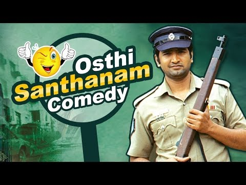 Osthi Full Movie Comedy | silamambarasan | richa | santhanam...