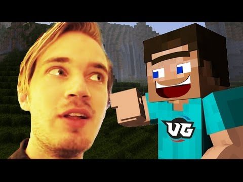 PEWDIEPIE CAUGHT PLAYING MINECRAFT?! (Minecraft Insanity Trolling!)