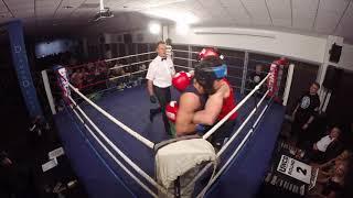 Ultra White Collar Boxing   Cardiff   Tim Scatchard VS Ali Alkamil