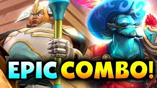STORM + CHEN - AMAZING COMBO! - ALLIANCE vs ESPADA - BTS Summer CUP DOTA 2